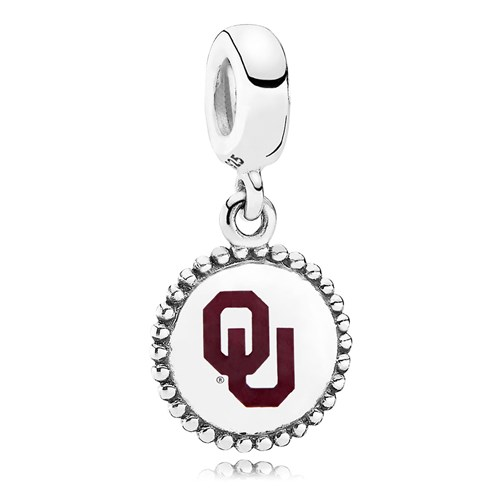 PANDORA The University of Oklahoma Dangle Charms ENG791169_84