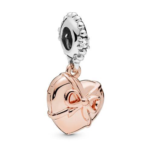 f13ae73c0 Pandora Rose™ Brazilian Heart Dangle Charm 788025CZ ...