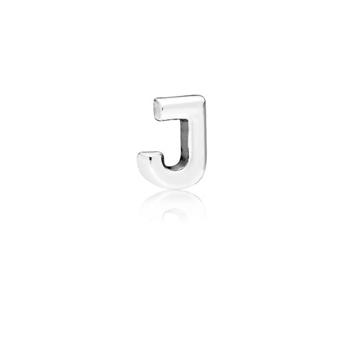 PANDORA Letter J Floating Petite Locket Charm 797328