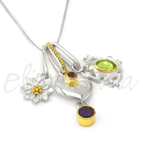 Michou Enchanted Garden Necklace