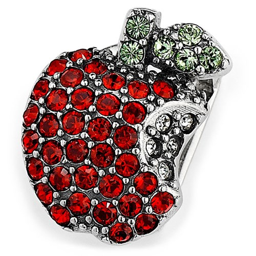 Lori Bonn Apple Of My Eye Slide Charm