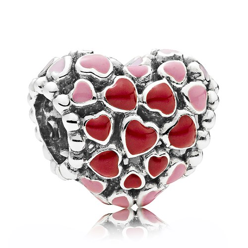 PANDORA Burst of Love Charm