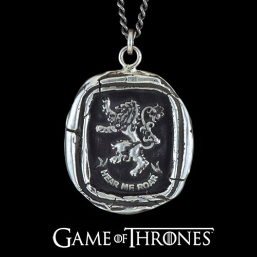 Pyrrha Game of Thrones | House Lannister Necklace