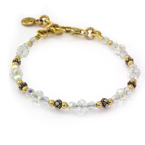 The Goddess Collection Petite AB Crystal Bracelet 10751B