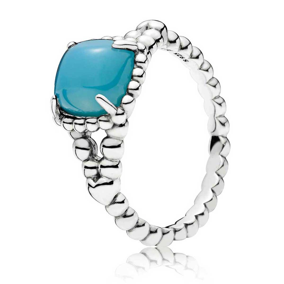 8d2cc528d PANDORA Blue Vibrant Spirit Ring 197188NSC ...