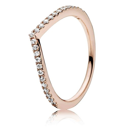 PANDORA Rose™ Shimmering Wish Ring 186316CZ