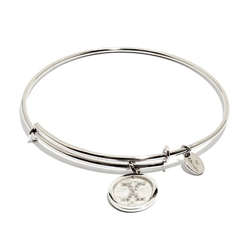 Chrysalis Initial X Bangle Bracelet