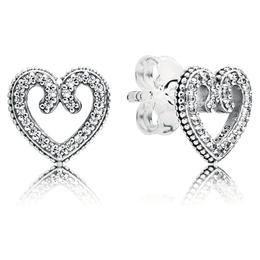 fe52d8cdd PANDORA Heart Swirls Choker Necklace - Elisa Ilana