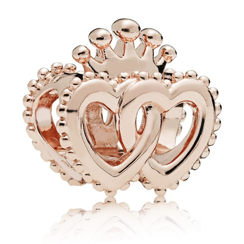 PANDORA Rose™ United Regal Hearts Charm 787670