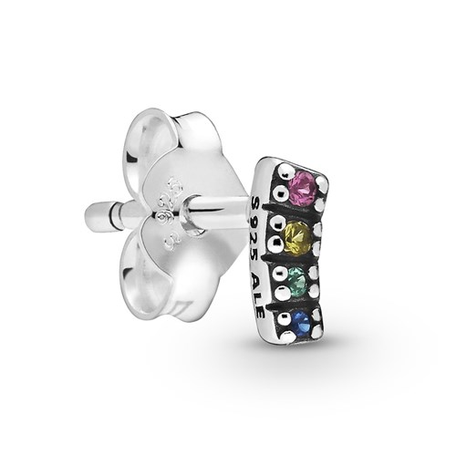 Pandora My Pride Single Stud Earring 298547C01