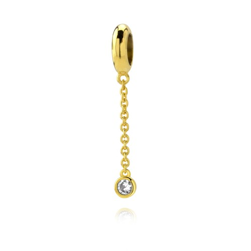 Petra Azar Small Gold Chain Charm
