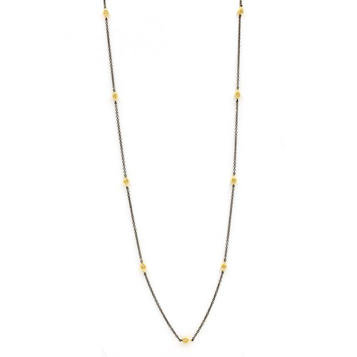 Freida Rothman Mini Teardrop Station Wrap Necklace