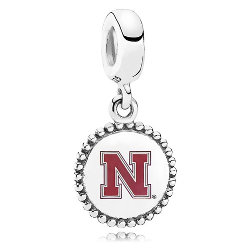 PANDORA University of Nebraska Dangle Charm ENG791169_72