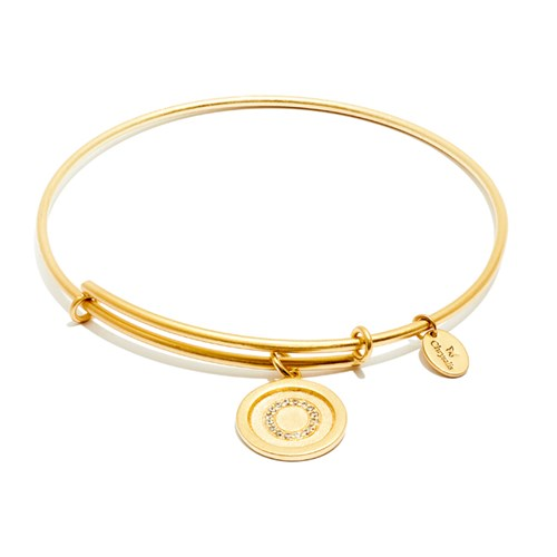 Chrysalis Initial O Gold Bangle