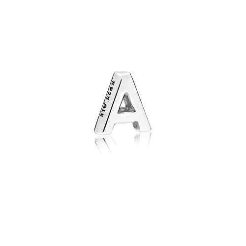PANDORA Letter A Floating Petite Locket Charm 797318