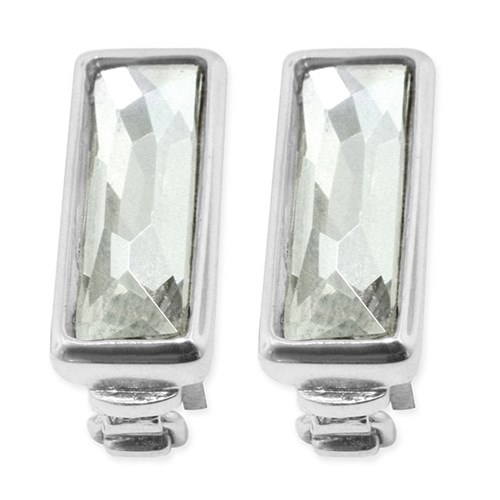 Lori Bonn Crystal Silver Shade Stopper Set