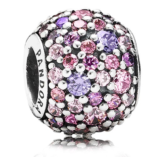 PANDORA Pavé Lights Multi-Colored CZ Charm