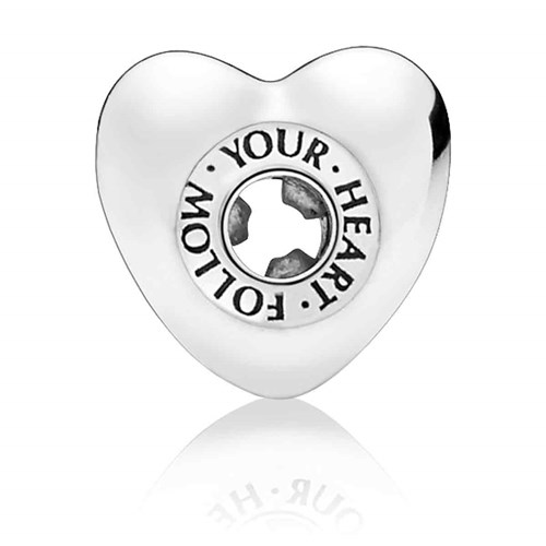 PANDORA ESSENCE™  FOLLOW YOUR HEART Charm 797282