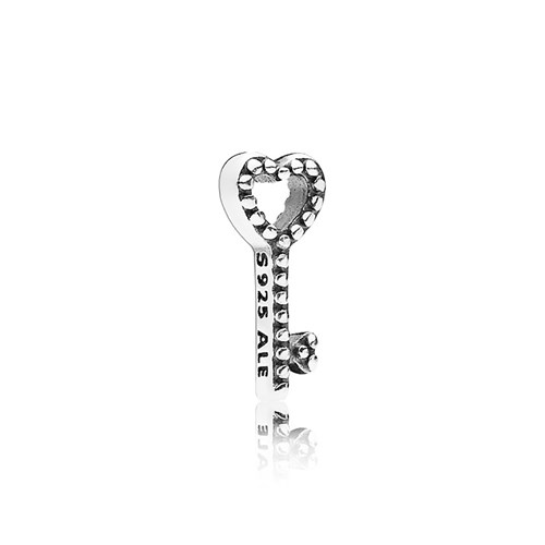 PANDORA Heart Key Petite Floating Locket Charm