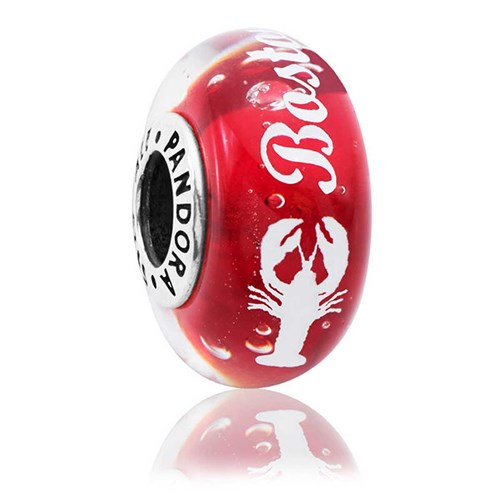 PANDORA Boston Lobster Murano Charm ENG791631CZ_1