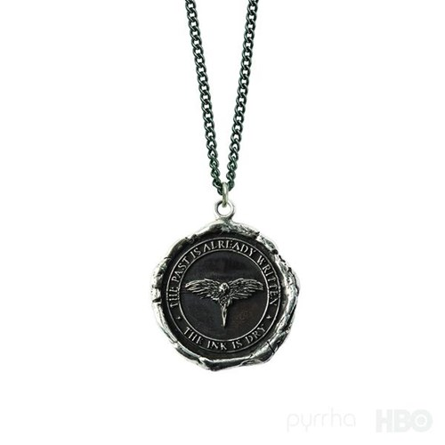 Pyrrha Game of Thrones | Three-Eyed Raven Character Talisman GOTThreeEyedRaven