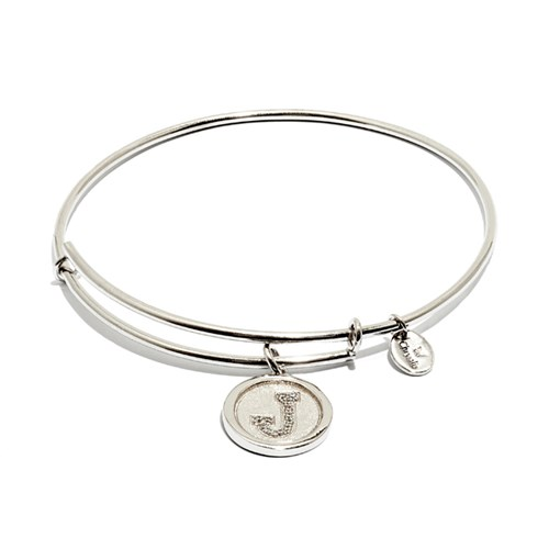 Chrysalis Initial J Bangle Bracelet