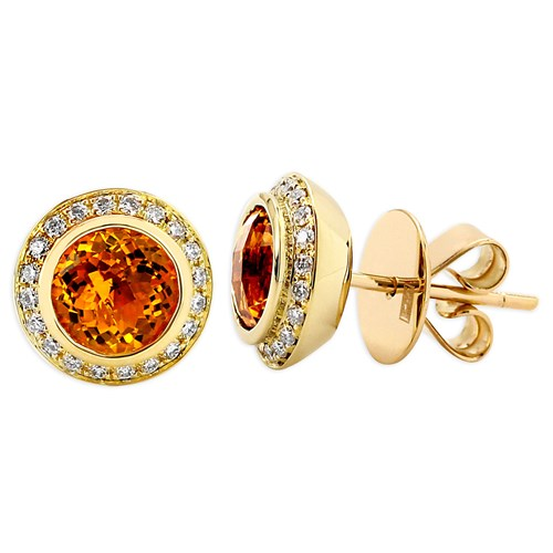 Frederic Sage Citrine Earrings