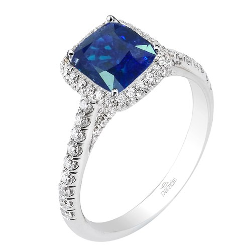 Parade Blue Sapphire Ring