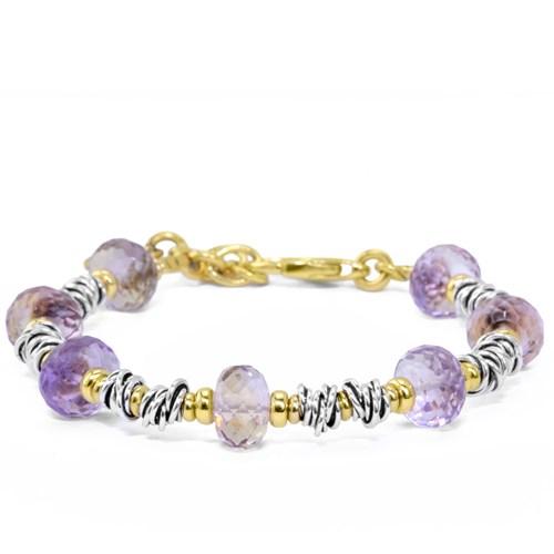 The Dess Collection Ametrine Bracelet