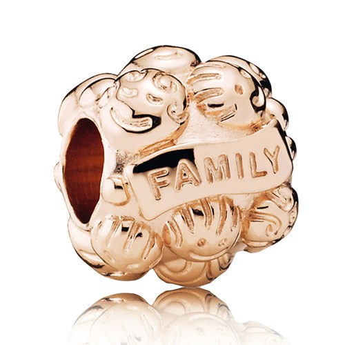 PANDORA Rose™ Love & Family Charm
