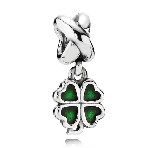 PANDORA Four Leaf Clover Dangle Charm