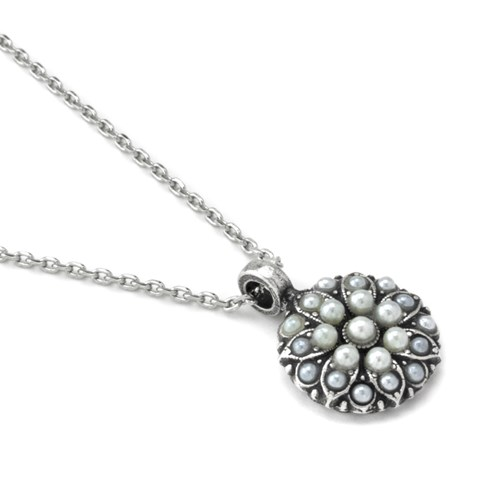 Mariana June Birthstone Angel Necklace