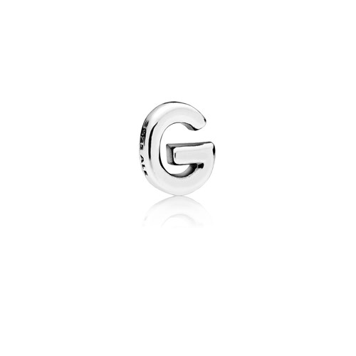 PANDORA Letter G Floating Petite Locket Charm 797325