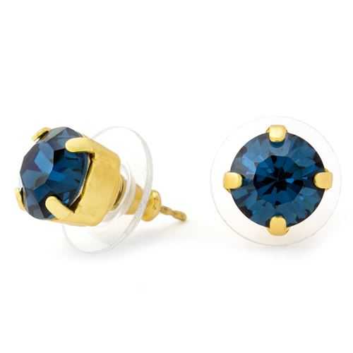 Mariana Blue Stud Earrings