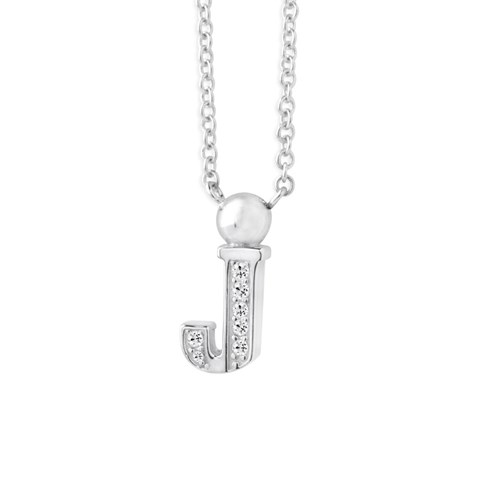 Petra Azar Mini Initial J Necklace