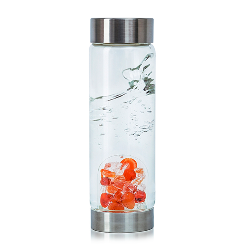 Passion Carnelian Gemwater Bottle