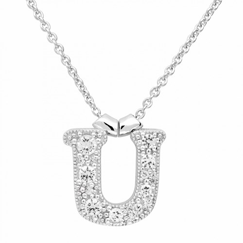 Petra Azar Initial U Necklace