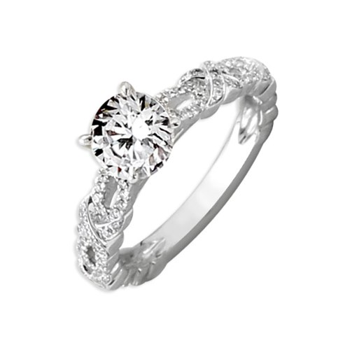 Hidalgo Diamond Ring with XO Design