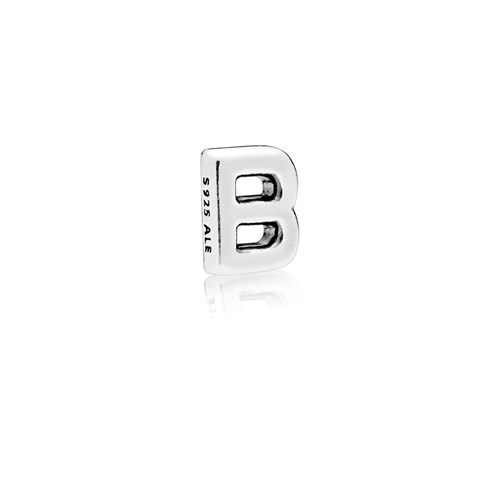 PANDORA Letter B Floating Petite Locket Charm 797319