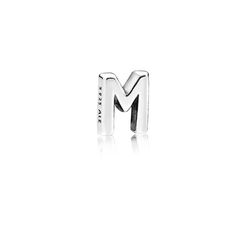 PANDORA Letter M Floating Petite Locket Charm 797331