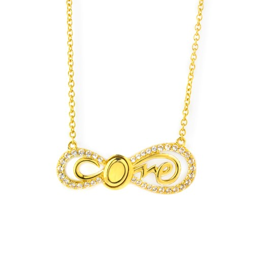Petra Azar Infinity Love Gold Necklace