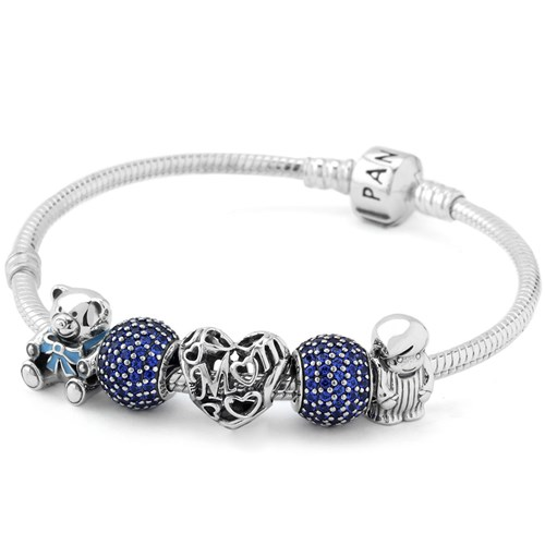 PANDORA A Mother's Love from Son Charm Bracelet