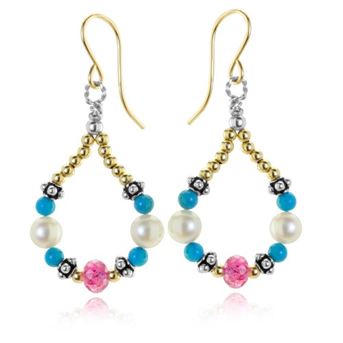 The Goddess Collection Drop Earrings 10742E