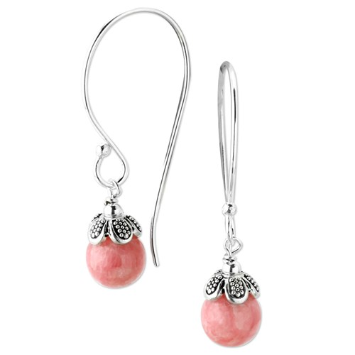 Elisa Ilana Rhodochrosite Earrings