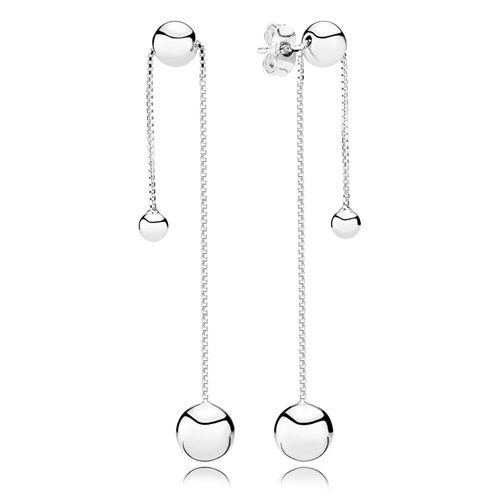 Pandora String Of Beads Earrings