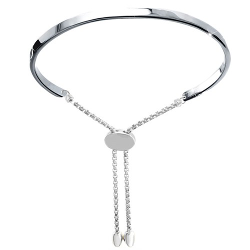 ID Friendship Bracelet Silver