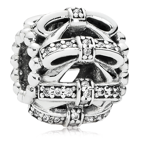 PANDORA Shimmering Sentiments with Clear CZ Charm