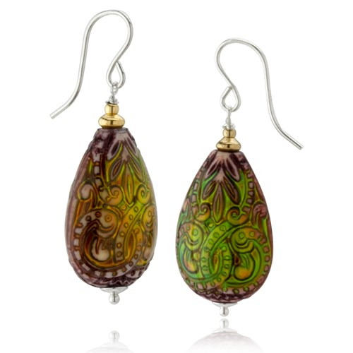 Moodies Collection Abstract Teardrop Earrings 10759E