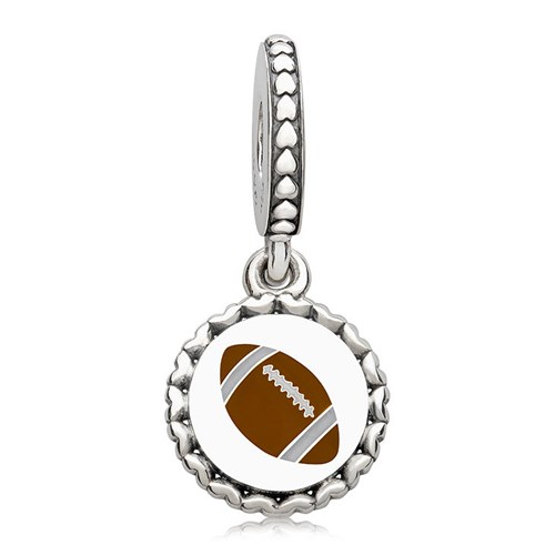 PANDORA Football Dangle Charm