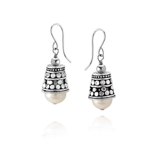 Elisa Ilana Pearl Earrings